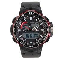 2017 lüks marka alike casual İzle erkekler g tarzı su geçirmez spor askeri saatler şok erkek analog kuvars dijital kol saati