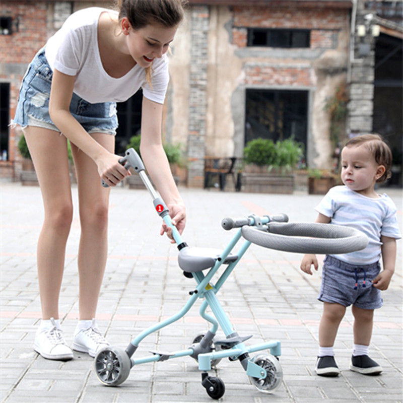 Ultralightweight Child tricycle Kids Bike baby stroller Portable Kinderwagen Folding Luxury Baby trolley Travel Carriage Prams