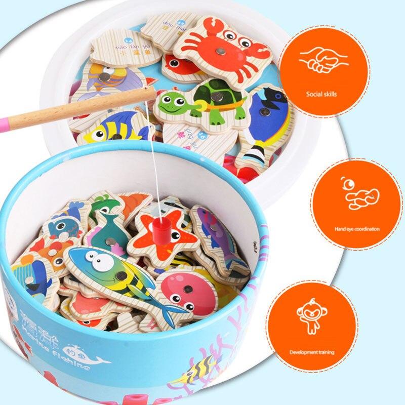 Рыболовные игрушки рыбалка игра Магнитная рыбалка практика дома новинка Рыбалка интересные 20 шт. пластик упражнения Мода