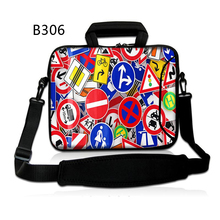 Site visitors Indicators Laptop computer Shoulder carry bag case pouch Cowl For macbook Air 11 13 macbook Professional 15 17 Retina show ipad professional 12.9