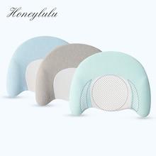 Honeylulu Baby Memory Foam Pillow Anti Flat Head Nursing Shaping For Newborns 6-18 months Sleep