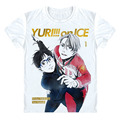 Yuri on Ice Yuri Plisetsky T Shirt Yuri!!! on Ice Yuri Katsuki Victor Nikiforov handsome men anime t-shirt cosplay custom tshirt