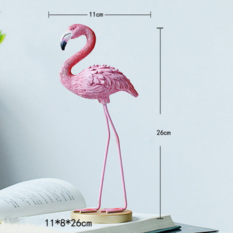 Vacclo 1pc ins Creative House Decoration Flamingo Ornament for The Wedding Gift Birthday Party Weeding Decoration Party Supplies 12
