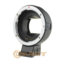 Black Version Electronic Auto Focus Adapter For Canon EOS EF S Lens To Sony NEX A7