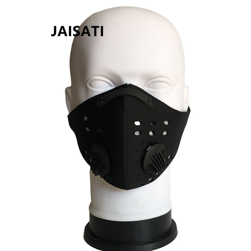 JAISATI Sports outdoor mountain bike riding mask activated carbon pm2.5 anti-smog warm dust face mask outdoor sports cycling mask bike riding variety turban magic bicycle designal scarf women scarves