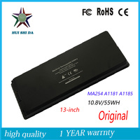 10 8V 55WH New Original Laptop Battery For APPLE MacBook A1185 A1181 MA254