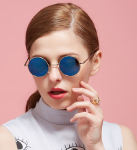 Women/Men Sunglasses Classic Polarized Driving Metal Designer glasses Prescription Round UV400