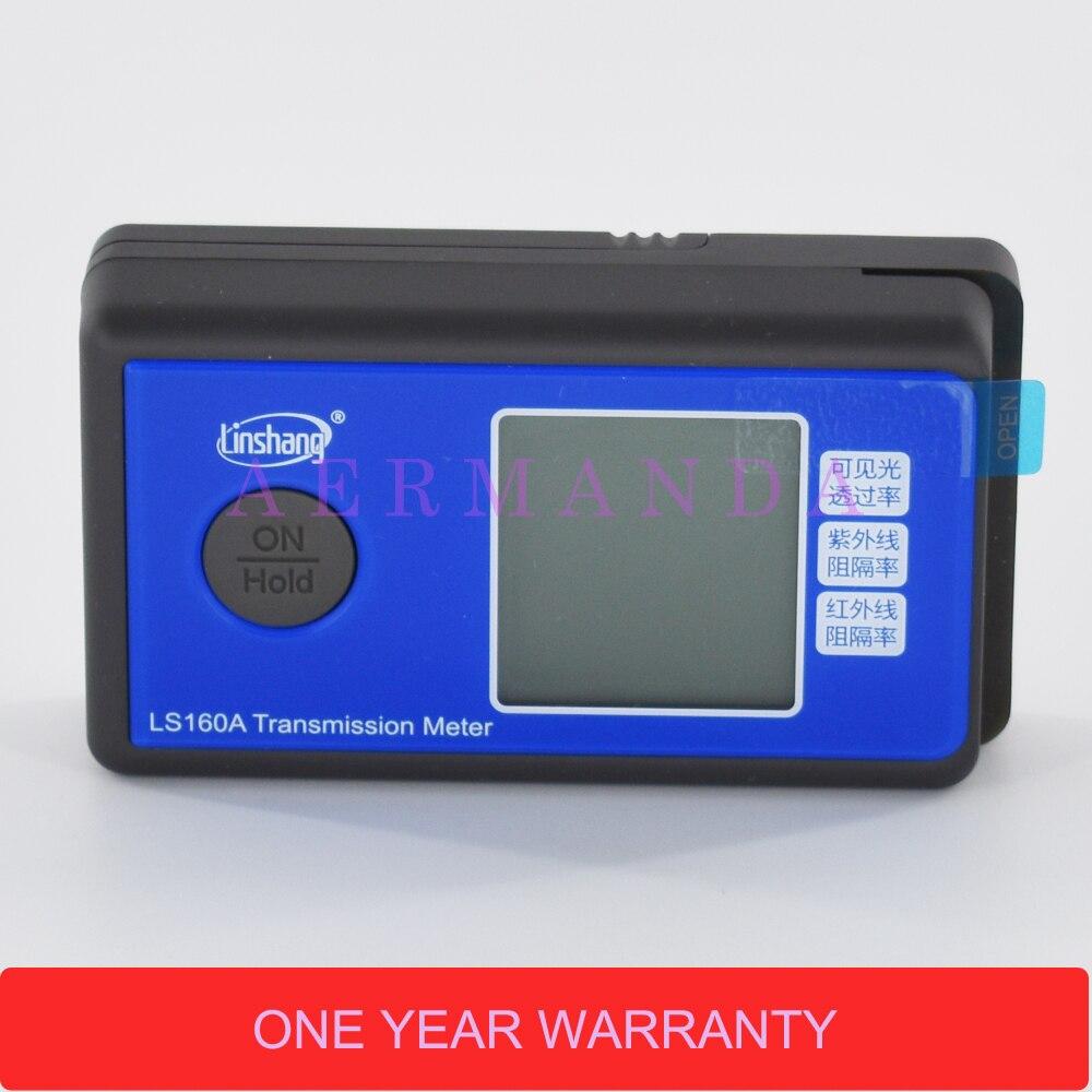 LS160A compteur de Transmission de Film solaire compteur de Transmittance de lumière UV IR compteur de rejet testeur de teinte de fenêtre