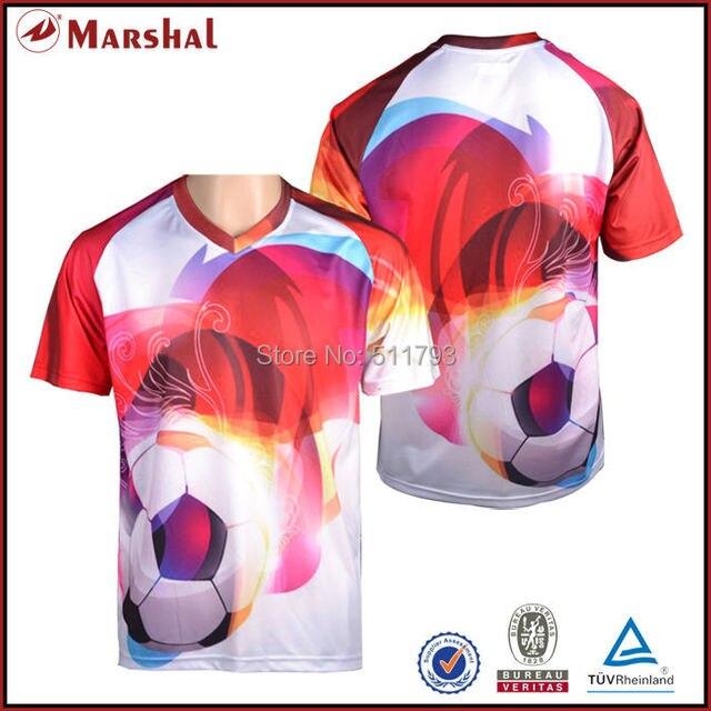 c086c92ad4610 Sublimación fútbol Jersey DE LA CALIDAD tailandesa fútbol uniforme envío  libre grado Soccer Jersey original