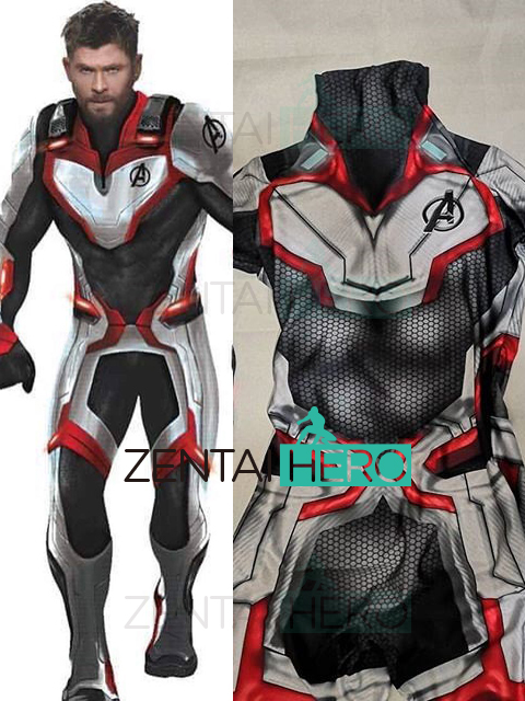 Custom Made High Quality Avengers 4 Cosplay Costumes 3D Print Lycra 2019 Avengers Endgame Film Quantum Realm Team Bodysuits