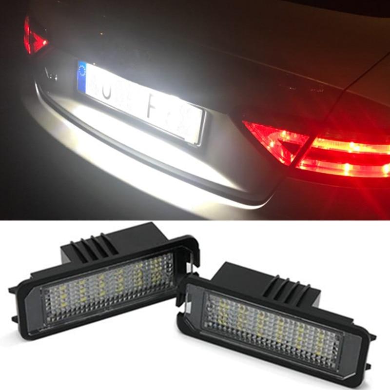 2 Bulbs Xenon White LED License Number Plate Lights For Honda Odyssey 2008-2013