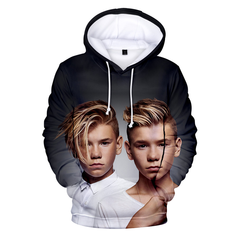 Marcus Martinus Hoodie Men/Women Harajuku Sweatshirt Fall Winter Children Kids Boys/Girls 3D Print Hip Hop Hoodie Funny Clothes