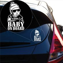 Cool Baby on Board Decal Sticker for Car Window, Laptop and More # 1006 (7 X 4.1, White) Car Stickers  Back To The Future 15 7 7 7cm funny the walking family on board the walking dead zombie motorcycle decal window stickers car accessories sticker
