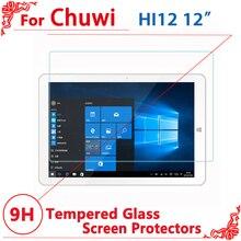 """Высокое качество Защитная пленка для экрана из закаленного стекла Защитная пленка для CHUWI Hi12 1"""" Защитная пленка для экрана"""