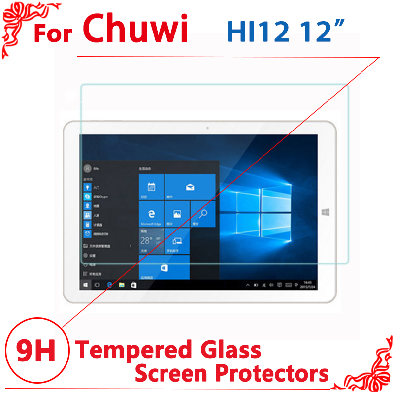 High Quality Tempered glass screen protector For CHUWI Hi12 12 screen protector film,Free shipping tempered glass original for alldocube m5 glass screen protector film slim transparent