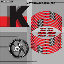HOT Motorcycle inner wheel Stickers rim reflective decoration decals For YAMAHA R15(China)