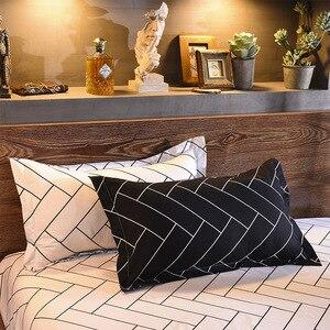 Image 2 - LOVINSUNSHINE King Duvet Cover Set Comforter Bedding Sets Stripe Black Bedding Set GA01#