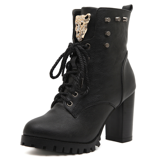 Black 2015 Women Girls Shoes Autumn Fall Comfort Trendy Shoes ...