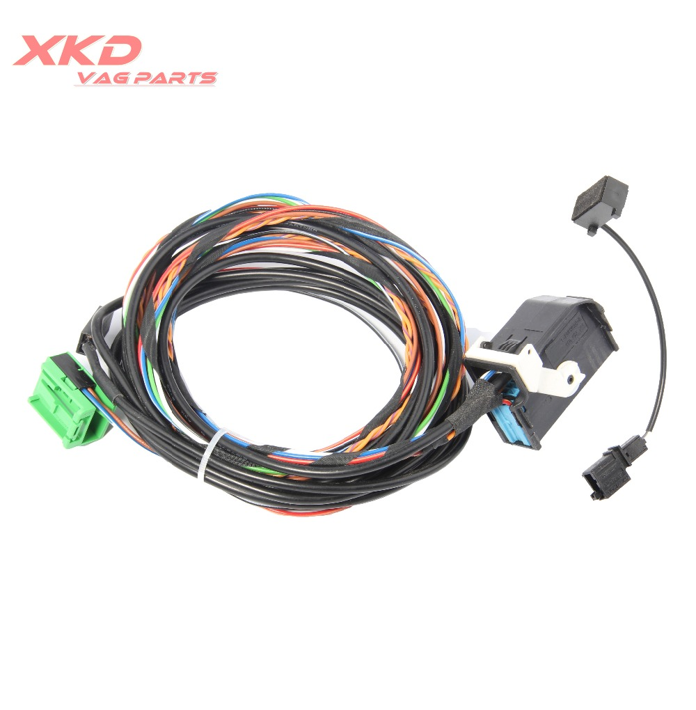 hight resolution of 9w2 9w7 bluetooth wiring harness cable for vw golf jetta passat rcd510 rns510 1k8 035 730 d 1k8 035 730 c in steering wheels horns from automobiles
