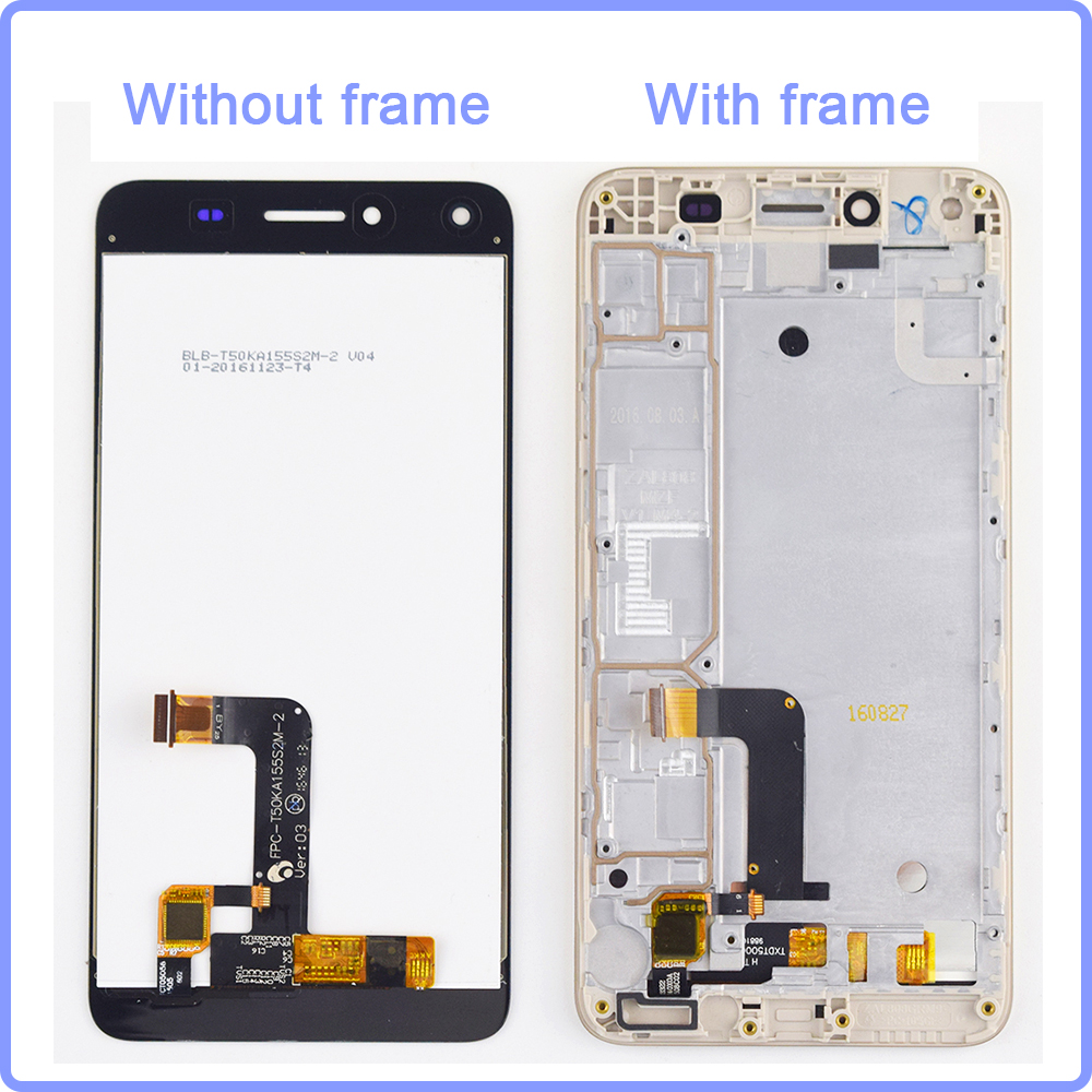 For Huawei Y5 II LCD Display Touch Screen Digitizer Assembly Frame For Y5II Y5 2 CUN-L03 CUN-L23 CUN-L33 CUN-L21 Cun-u29 Enjoy 5For Huawei Y5 II LCD Display Touch Screen Digitizer Assembly Frame For Y5II Y5 2 CUN-L03 CUN-L23 CUN-L33 CUN-L21 Cun-u29 Enjoy 5