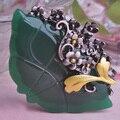 2015 venta Caliente del Nuevo Diseño Retro Colorido AntiSilver Lingote Flor de Acrílico de Moda Broche Broches de Las Mujeres Bijoux Joyería Buena Suerte