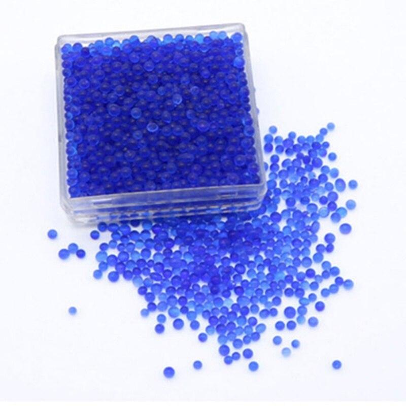 Silica Gel Box Reusable White Orange Blue Silicagel Moisture Absorber Absorbent Desiccant Box Color Changing Indicating