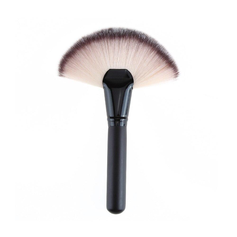Fan Shape Powder Concealer Mix Marker Highlighting Makeup Brush Nail Art Brush For Makeup