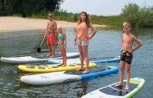 Deportes acuáticos / prancha de hemp surfe / quillas aleta barbatana prancha paddle cojín cubierta stand up surf / fcs inflable tabla de surf / inflable
