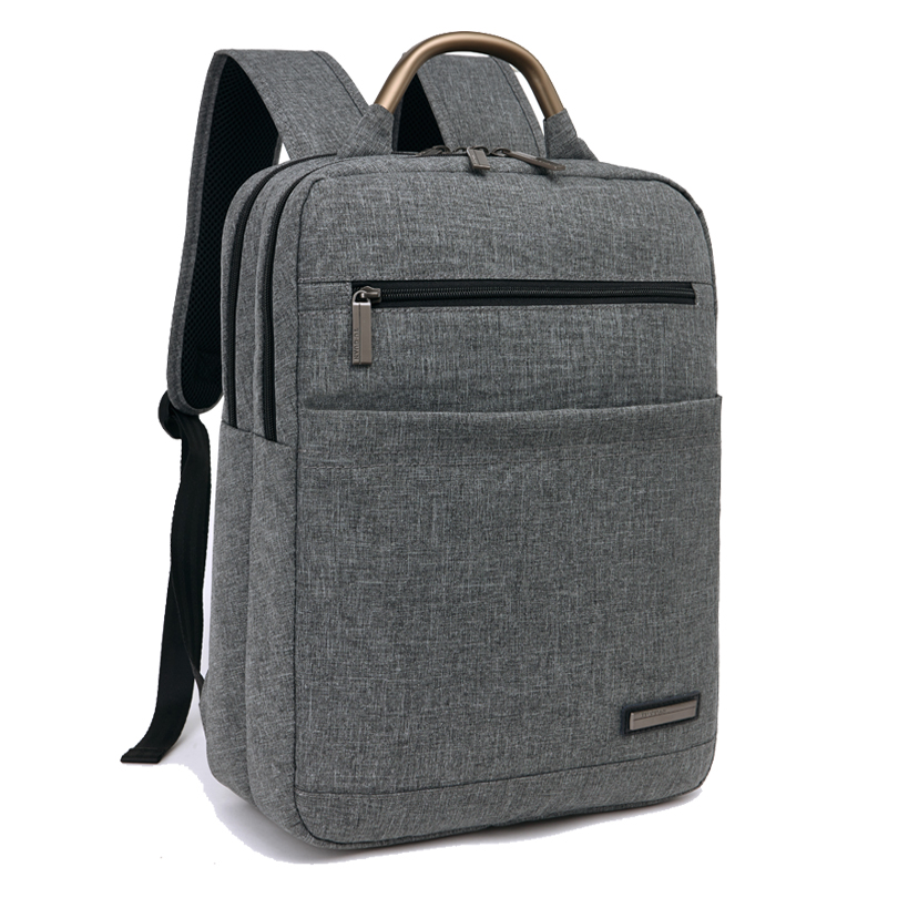 ФОТО Men's laptop Bag School Bag Vintage Backpack College Travel Bags Women Business Laptop Backpack for Computer Notebook 15.6 Inch
