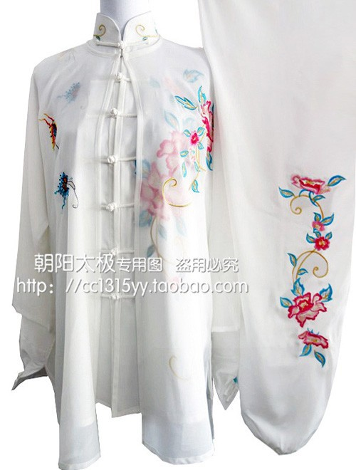 Customize Tai chi font b clothing b font Martial arts suit kungfu uniform taiji clothes embroidery