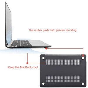 Image 5 - MOSISO クリスタルマットケースカバー Macbook Air の 11 空気 13 インチ A1466 A1932 Mac プロ 13 15 網膜 A1706 A1708 A1989