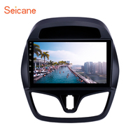 Seicane Android 8.1 9 inch car GPS Radio for chevy Chevrolet Spark Beat Daewoo Martiz 2015 2016 2018 support Carplay SWC DAB+