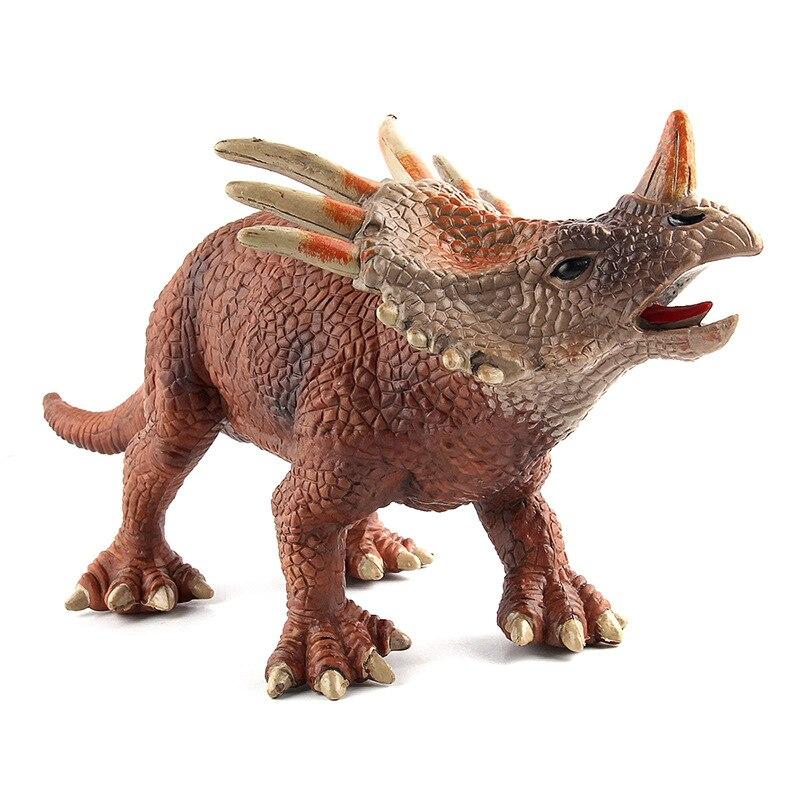 Jurassic Dino World Styracosaurus model figure teaching Collection Childrens birthday Gift model toys