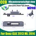 Estacionamiento del coche del CCD cámara de visión trasera para Benz GLK 2013 ML 2014 copia de seguridad de visión trasera cámara de 170 grados de HD