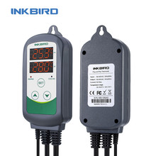 Inkbird termostato de temperatura para ITC 308, controlador de alarma de temperatura con sonda Digital BBQ Craft, Control de temperatura para horno de cerveza