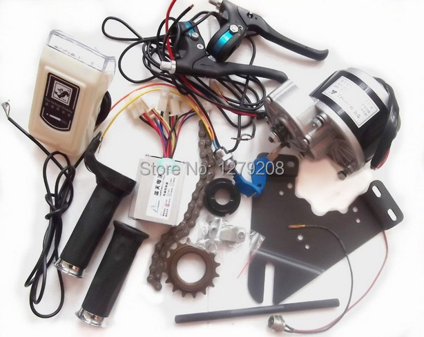 цена на DC 24V 350W DIY 22 - 28 DC motor ,electric bicycle kit , electric bike conversion kit