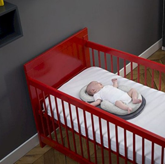 Baby Stereotypes Infant Newborn Anti rollover Mattress Pillow 4