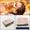 50 PCS Folha de Ouro Folha de Máscara Spa 24 K Máscara de Ouro Tailândia Equipamento do Salão de Beleza Anti-Rugas Elevador rosto Cuidados de Beleza