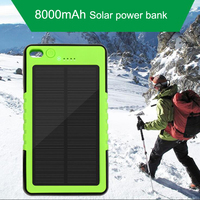 ALLPOWERS 8000mah Solar Power Bank Solar Chargerexternal Battery Pack For Xiaomi IPhone Samsung HTC Lg Ipad