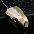 2400 DPI 6D Botones LED USB Mecánica Wired Gaming Mouse Para PC Portátil