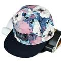 Unisex Ink Painting Hip Hop Hat Dancer Adjustable Baseball Cap Snapback