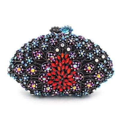 Robe Vintage Sacs De Mariage Sac Téléphone La Femmes Main D'embrayage Soirée Luxe Banquet Perles Élégant Mariée Bleu Cadeaux À ZqdzE