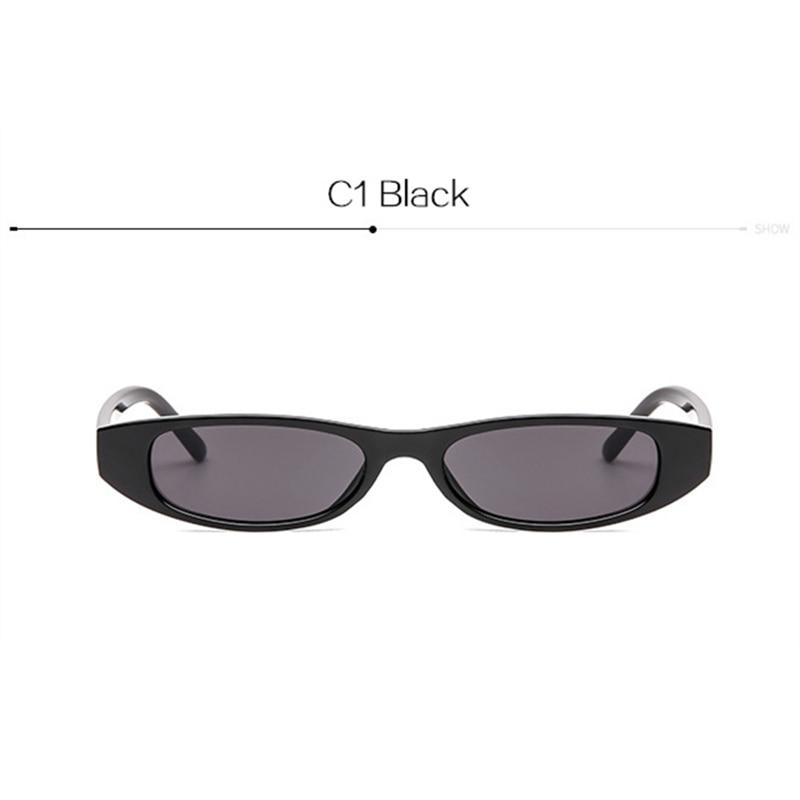 5d42d1e4b28 Cute Sexy Cat Eye Sunglasses Women 2018 Summer Retro Small Frame Black Red  Cat Eye Sun ...