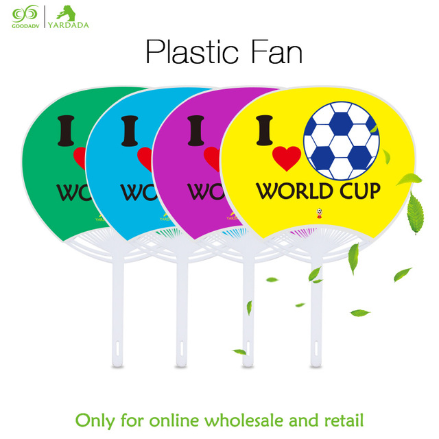 1pc Portable Wedding Favors And Gifts For Guest Hand Fan Plastic Groomsmen Small Football