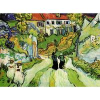 High Quality Vincent Van Gogh Paintings For Sale Village Street And Steps In Auvers With Figures