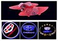 Фабрика рекламных цен ПРИВЕЛО Двери Автомобиля Добро Пожаловать Свет Лазера Автомобиль дверь Тень светодиодные Проектор Логотип Для Geely emgrand EC7 автомобильный логотип