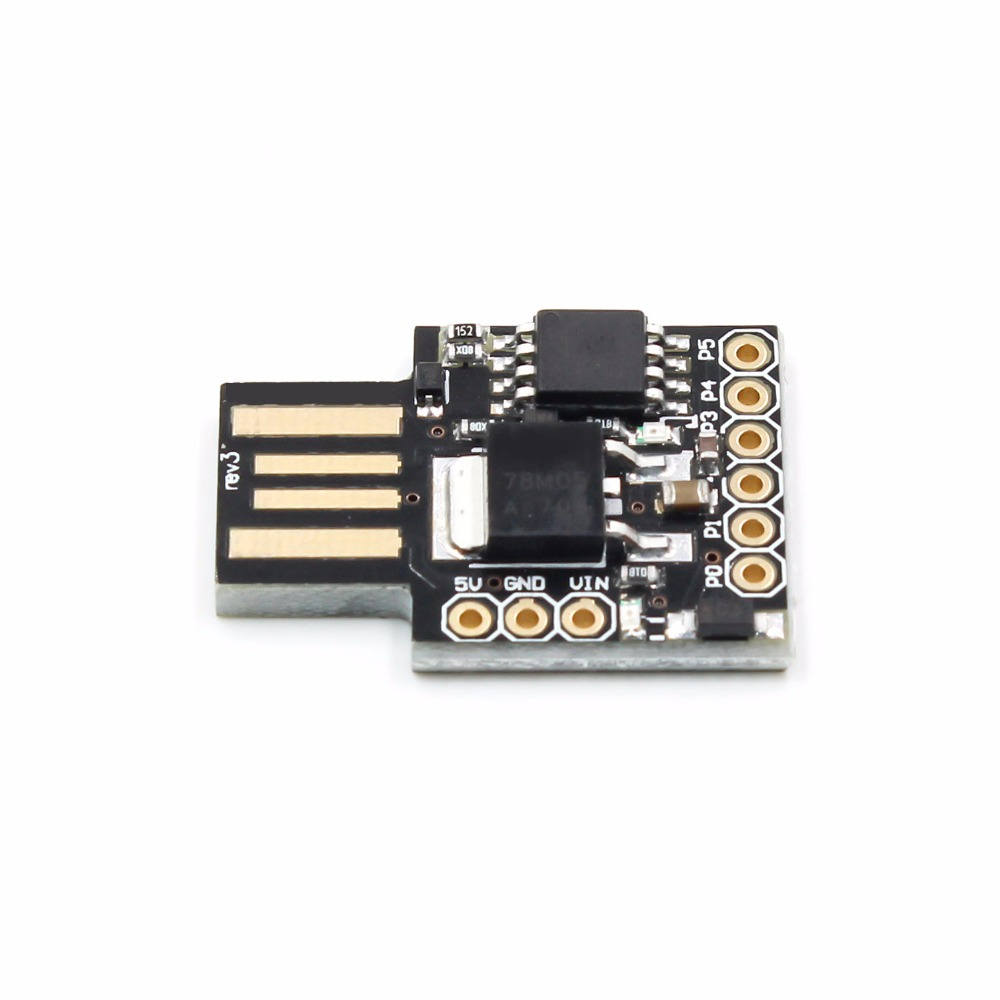 Image 2 - 1pcs Digispark kickstarter development board ATTINY85 module usb-in Integrated Circuits from Electronic Components & Supplies