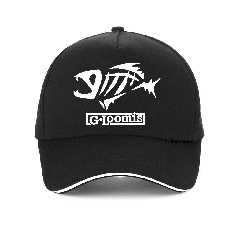 new Man g.loomis outdoor fishing cap baseball cap solid outdoor breathable cotton fishing hat hip snapback bone