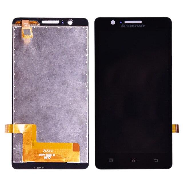 Для lenovo A536 ЖК-дисплей и сенсорный экран дигитайзер сборка черный белый цвет