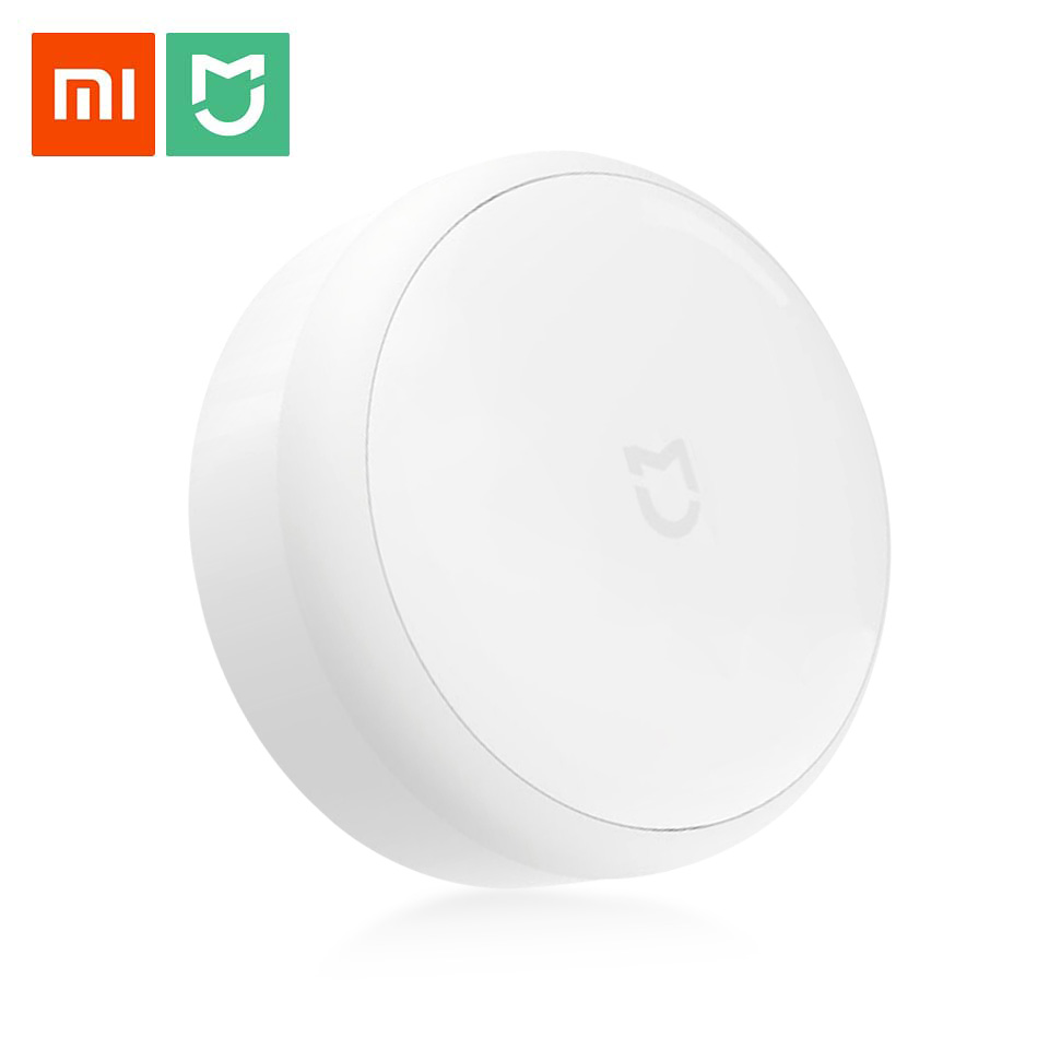 Original Xiaomi Mijia LED Lamp Yeelight Corridor Night Light Infrared Remote Control Body Motion Sensor Smart Home Mi Home Light xiaomi mijia yeelight portable led makeup mirror with light dimmable and smart motion sensor night light for xiaomi smart home
